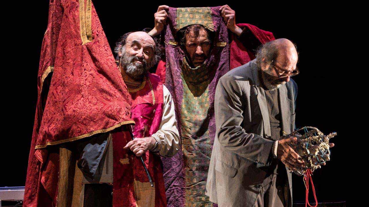 La compañía teatral La Zaranda está en el Teatro Español de Madrid con ''Ahora todo es noche''