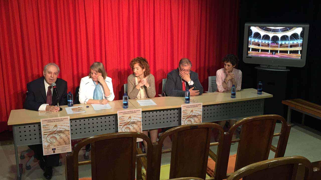 En Diciembre, Albacete celebra su primer Concurso Nacional de Canto ''Ciudad de Albacete''