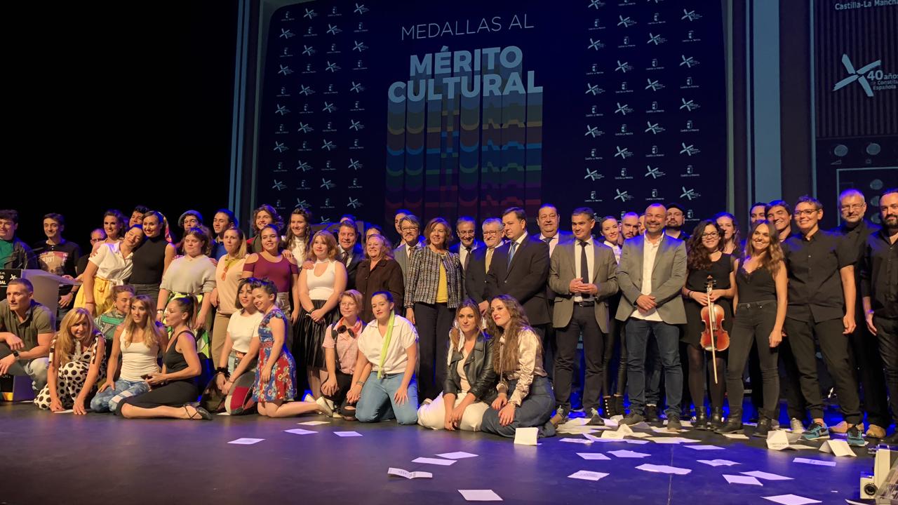 La Gala de la Cultura 2018 entrega las Medallas al Mérito Cultural en el Teatro Circo de Albacete.
