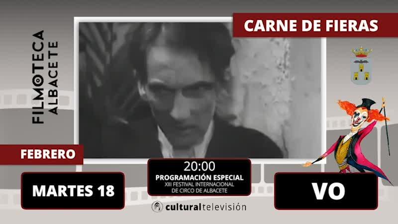 CARNE DE FIERAS   XIII FESTIVAL INTERNACIONAL DE CIRCO DE ALBACETE