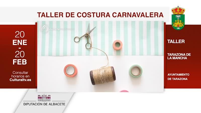 TALLER DE COSTURA CARNAVALERA