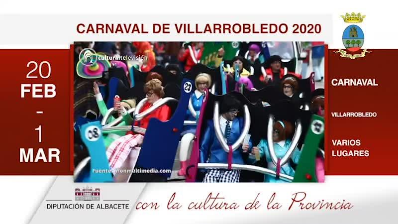 CARNAVAL DE VILLARROBLEDO 2020
