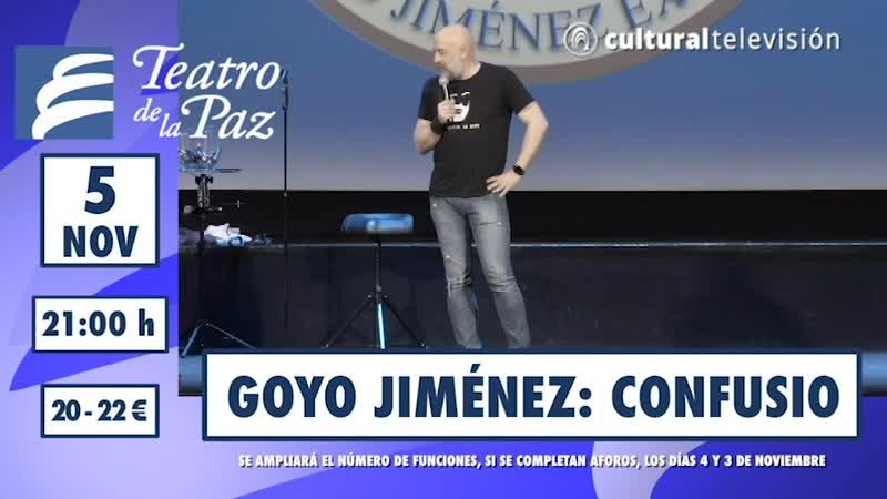 GOYO JIMÉNEZ: CONFUSIO