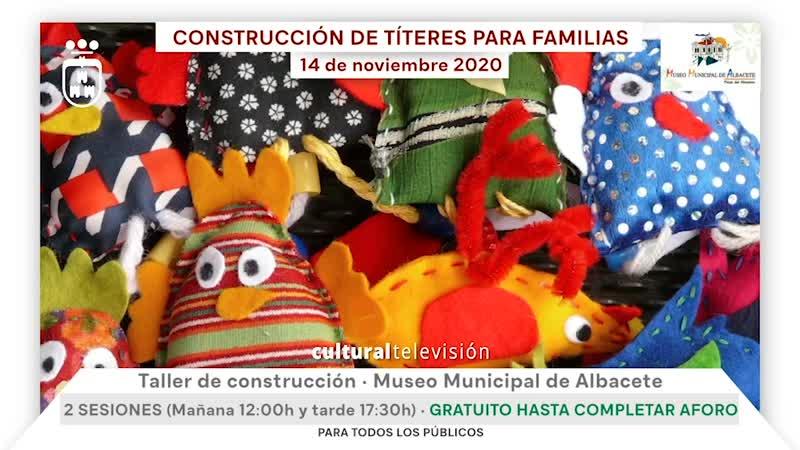 CONSTRUCCIÓN DE TÍTERES PARA FAMILIAS